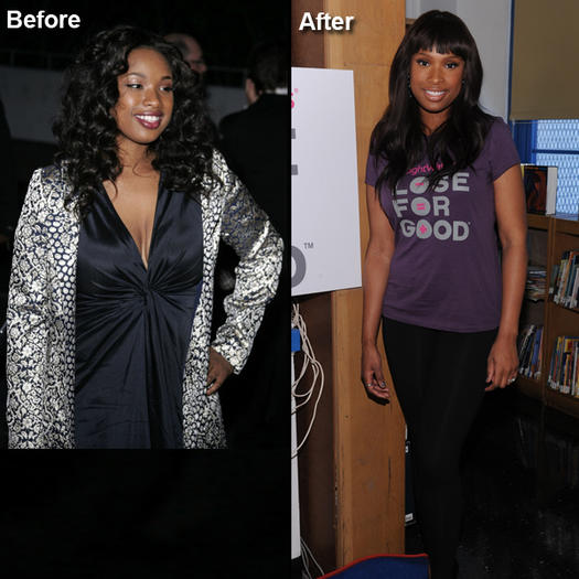 Celebrity Before And After Healthy Weight Loss Success
