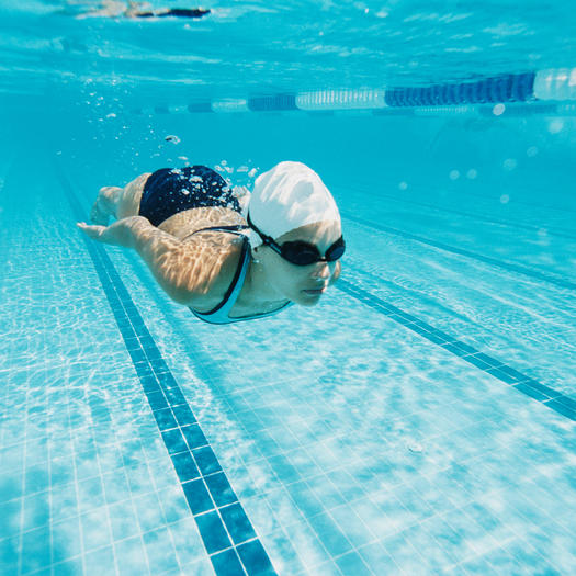 advanced lap swimming workout for the pool
