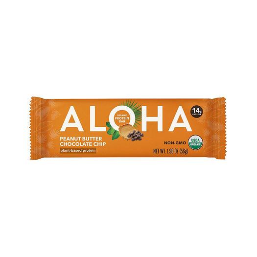 aloha vegan snack high protein bar