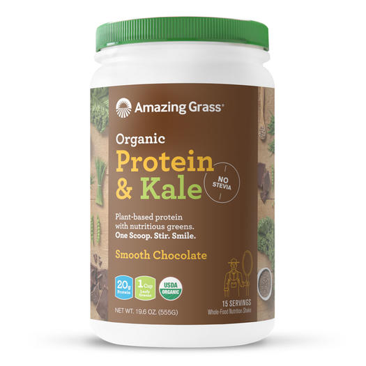 amazing grass protein and greens vegan plant-based protein powder