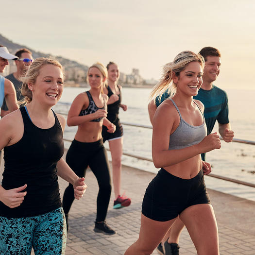 benefits of running group social connection