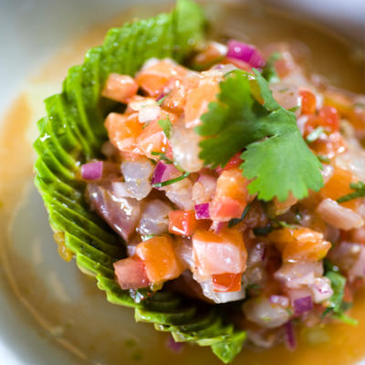 your Weight Loss Program with Mexican foods - Ceviche