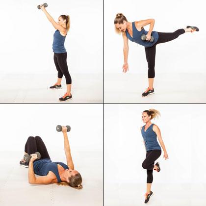 circuit training the onceaweek workout plan for women
