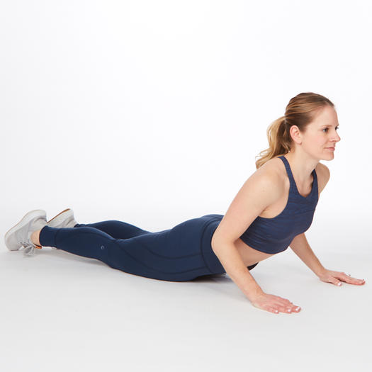 cobra abs exercise stretch