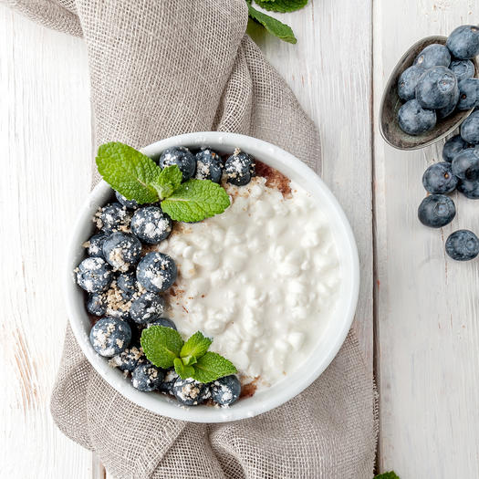 cottage cheese high protein low carb food