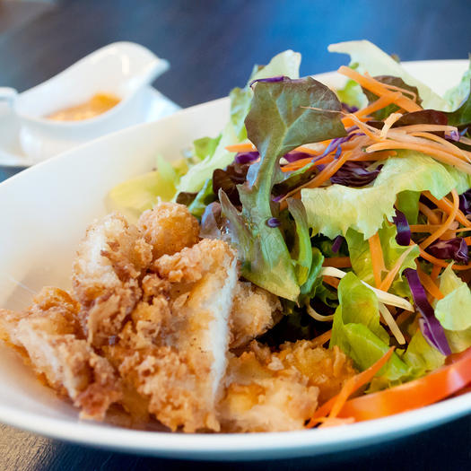 crispy chicken high calorie salad
