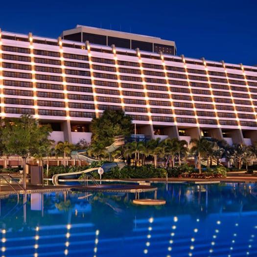 Disney's Contemporary Resort best disney hotels for runners