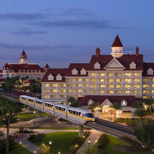 disney grand floridian best disney hotels for runners
