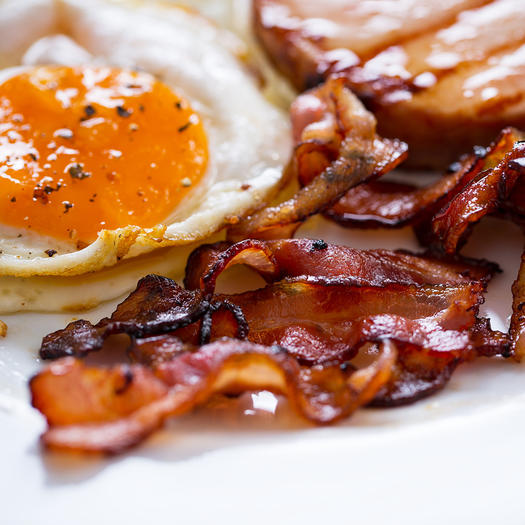 eggs and bacon worst foods to eat