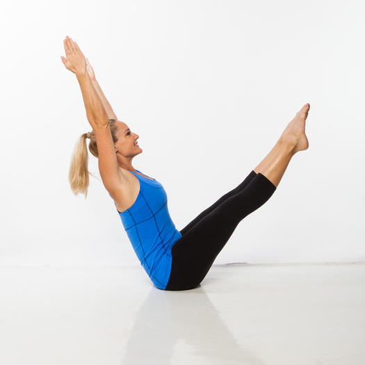 Yoga, Pilates, and Ballet Abs Workout for a Flat Belly