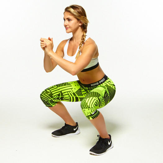 16 Booty-Shaping Squats That'll Work Your Butt Off | Shape