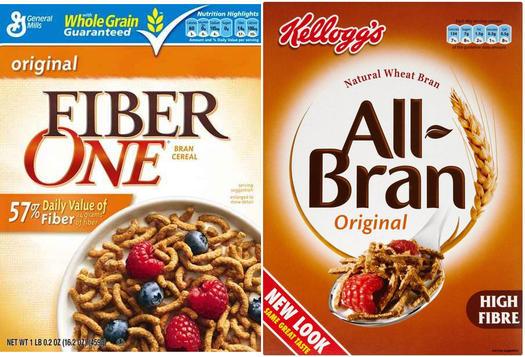 Fiber One Original vs. Kellogg's All-Bran Original