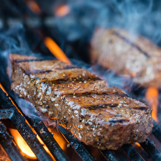grass fed beef high protein low carb food
