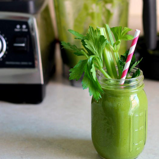 green vegetable smoothie recipe