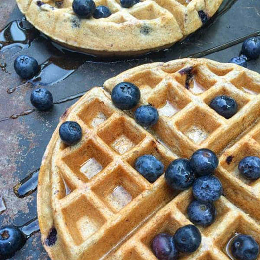 healthy waffles recipe with greek yogurt