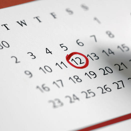 Irregular periods and pregnancy dating