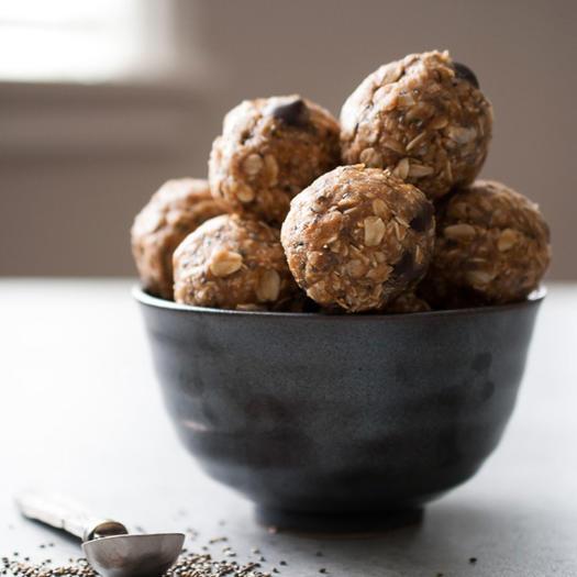 no bake almond butter energy bites recipe