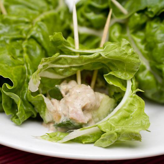tuna salad lettuce wraps recipe