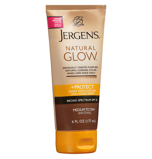 Jergens Natural Glow + Protect Daily Moisturizer Sunscreen SPF 20