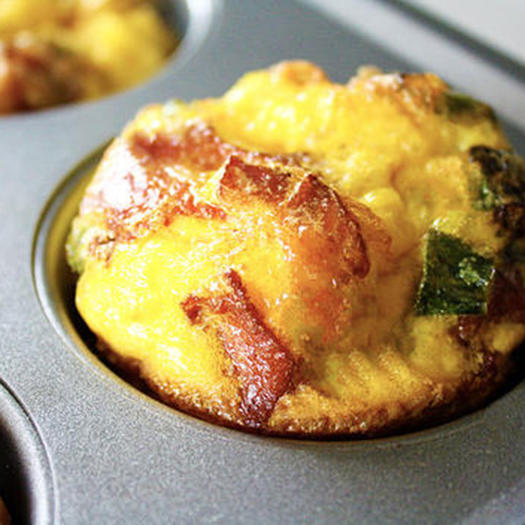 keto breakfast egg muffin