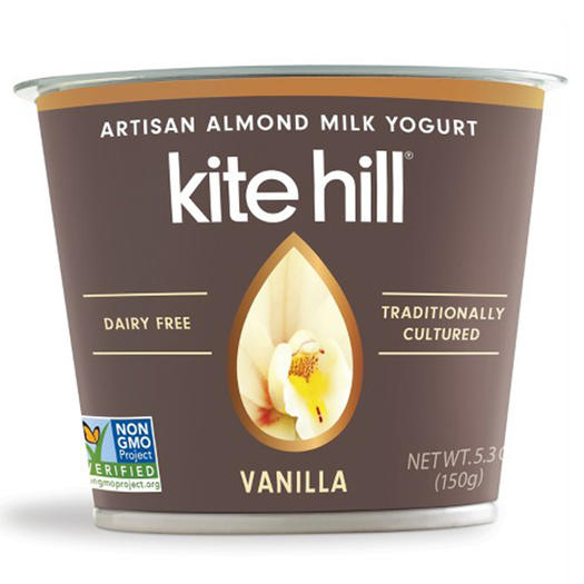 kite hill almond milk vegan yogurt