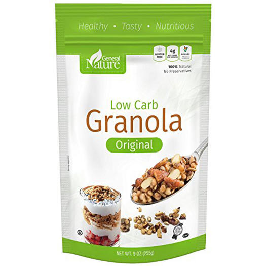 low carb keto granola snack from amazon