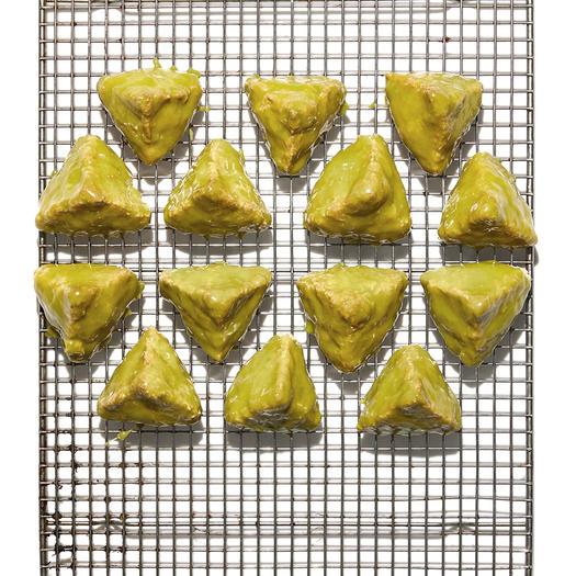 Matcha Coconut Macaroons healthy holiday cookies