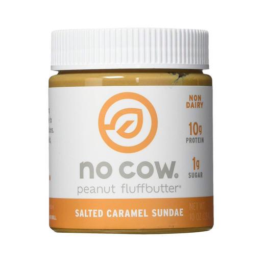 no cow high-protein peanut fluffbutter vegan snacks