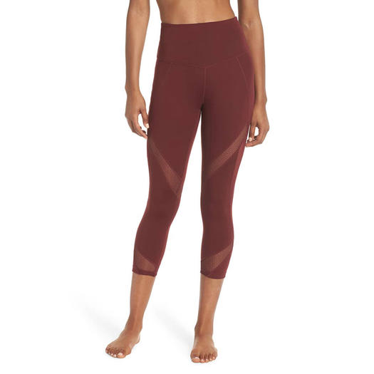 187dba66a816a Nordstrom: Zella Moroccan High Waist Crop Leggings. nordstrom black friday  leggings on sale
