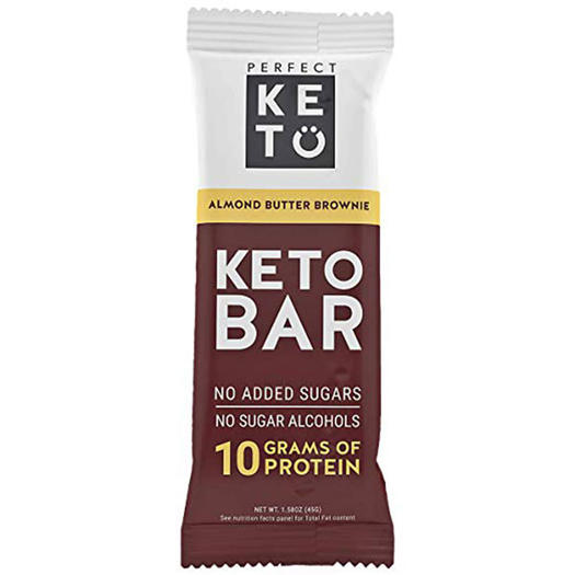 perfect keto protein bar