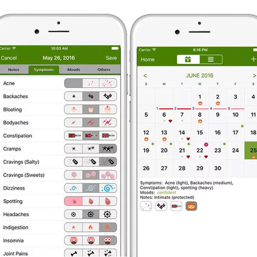 Period tracker lite app