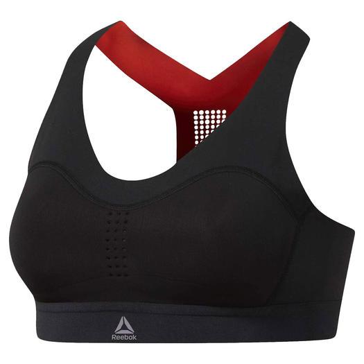 reebok pure move sports bra winter workout gear