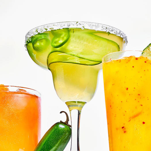 Jalapeño-Coconut Margarita mocktail