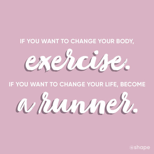24 Motivational Quotes For Runners Shape Magazine