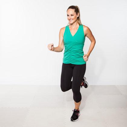 the indoor running workout plan  shape magazine