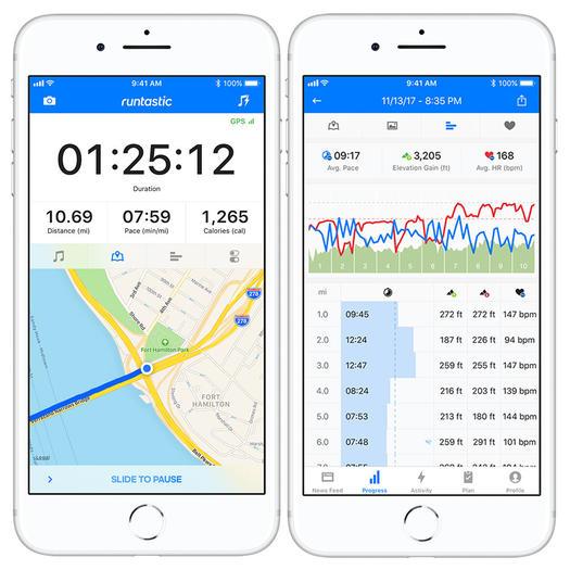 runtastic best free running app run tracker