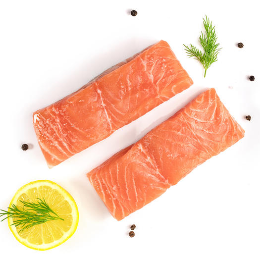 salmon healthy food for skin and hair
