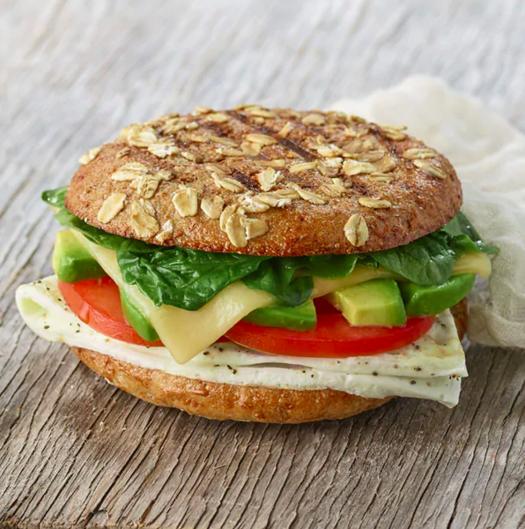 panera bread healthy fast food breakfast sandwich