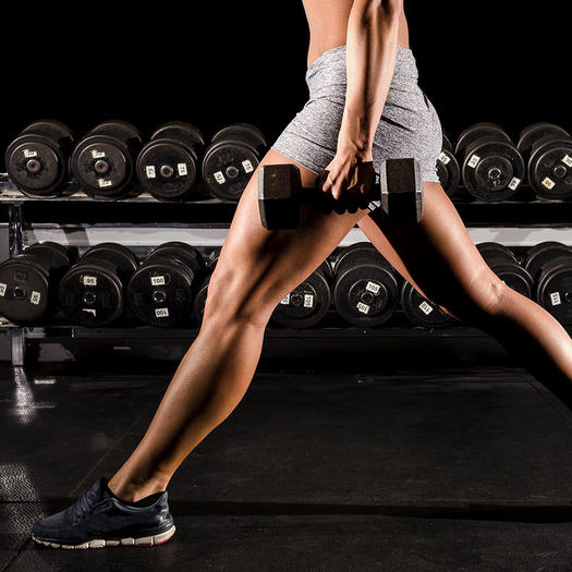 Dumbbell Workout for Strength-Training Your Legs and Lower Body