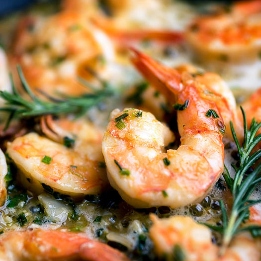 shrimp high protein low carb food