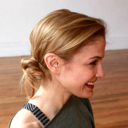 easy hairstyles for the gym howto instructions  shape
