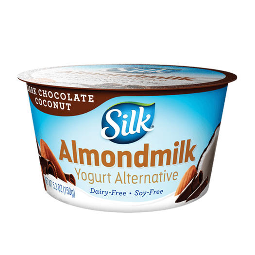 silk almond milk vegan yogurt