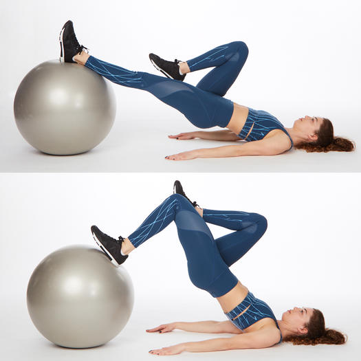 Stability Ball Side Lift: 8 Butt-Lifting Exercises For A Killer Booty Workout