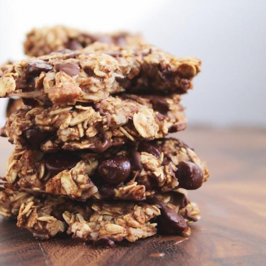 Healthy Cowboy Cookies holiday cookie swap