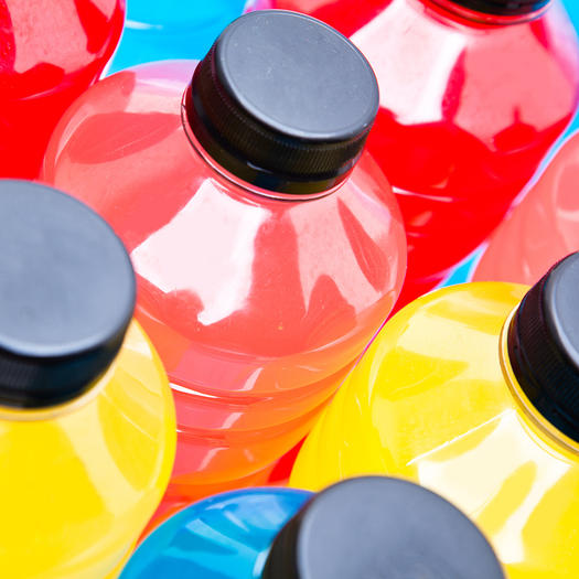 sports drinks un health drinks