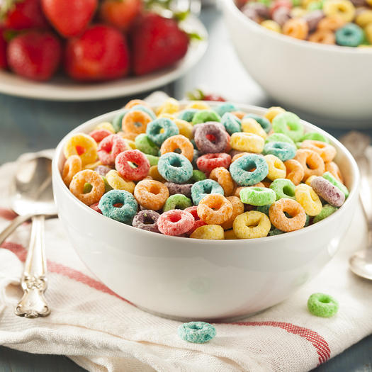 sugary cereal worst foods to eat
