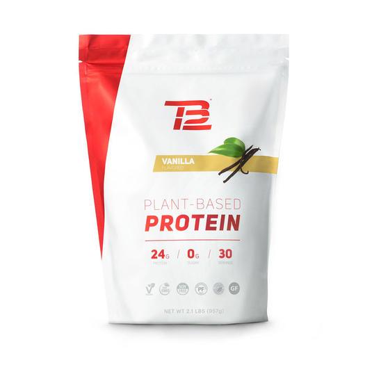Tb12 tom brady plant-based protein powder