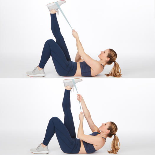 the climb up easy abs exercise