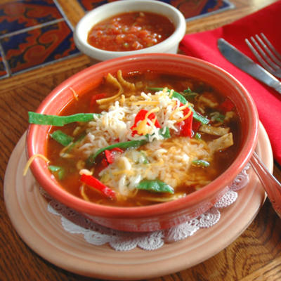 your Weight Loss Program with Mexican foods -Tortilla Soup