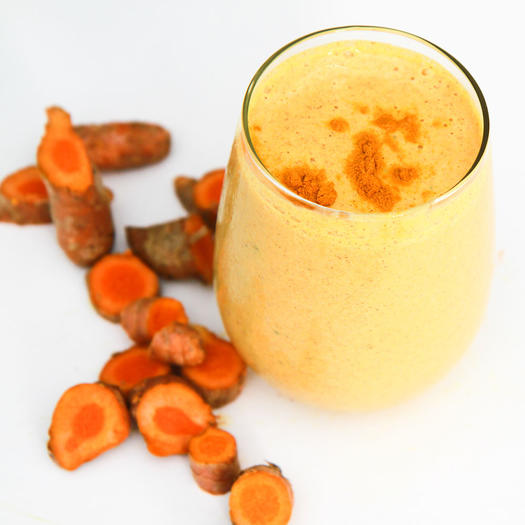 turmeric smoothie post workout snack trainers dietitians